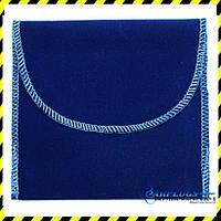 Тканевый Чехол для маски, синий.