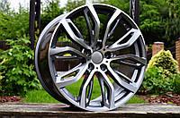 Литые диски R20 5x120 на BMW X4 F26 X5 E70 F15 X6 E71 F16 БМВ X1 X3 X5 X6