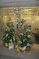 Новогоднее украшение офиса Киев