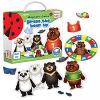 Игра развивающая Magnetic game Dress a bear up RK3203-01