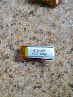 Батарея для автонавигаторов 041235P  (35×12×3 мм), (Li-Polymer 3.7V 300мАч)