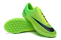 Футбольные сороконожки Nike Mercurial Victory VI TF Electric Green/Black/Volt