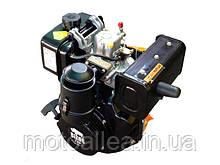 Двигатель бензиновый BIZON 177F - (4-х тактный) внутреннего сгорания предназначен для широкого использования в