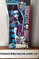 Кукла Монстер Хай Спектра Вондергейст в купальнике Monster High Spectra Vondergeist Swim Class Line пляжная