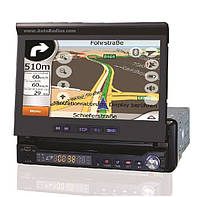 Автомагнитола Pioneer Da-765, 7 дюймов, DVD, TV,  usb, sd, Bluetooth (IGO, Navitel)