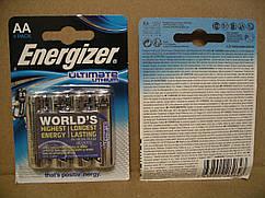 AA ENERGIZER Ultimate Lithium батарейка L91 FR6, цена за одну штуку. LR6