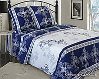 Евро бязевый комплект постельного белья, 4225 Баронеса