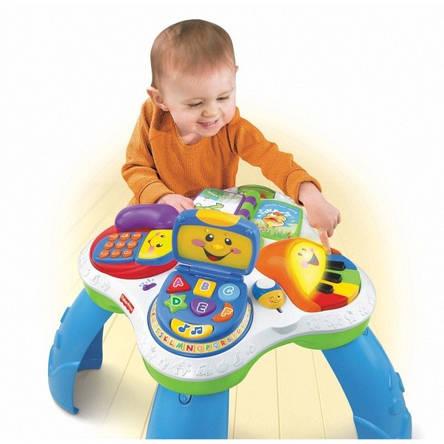 """Світломузичний розвиваючий столик """"Ноутбук"""" Fisher Price прокат в Харкові, фото 2"""