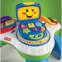 """Світломузичний розвиваючий столик """"Ноутбук"""" Fisher Price прокат в Харкові, фото 3"""