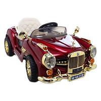 Детский электромобиль M 1511 RS-3 ретро Rolls Royce (красный, автомобильная краска)