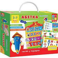 Игра развивающая Абетка с магнитной доской VT1502-02 (укр)
