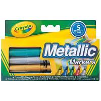 Набор для творчества Crayola Фломастеры цвета металлик (58-5054)