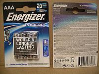 Energizer Ultimate Lithium AAA, CR03, цена за одну батарейку