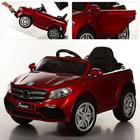 Детский электромобиль Mercedes Style M 3181 EBLRS-3: 2.4G. EVA-колеса, Кожа - БОРДО-купить оптом