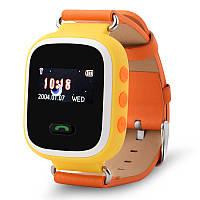 Оригинальные детские часы Smart watch Q60 (Оранжевй)