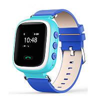 Оригинальные детские часы Smart watch Q60 (Голубой)