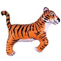 Гелиевый FM Тигр черный 78см X 104см