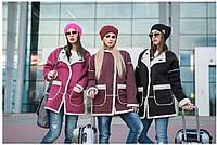 Шерстяное пальто на евро зиму женское Style 42–48р. в расцветках