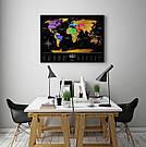 Скретч карта мира Travel Map ™ «Black World», фото 10