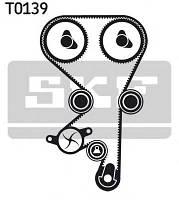 Ремень грм, комплект (ремень, комплект роликов, старое исполнение, замена на ct975k3)  на Opel Zafira, Vectra