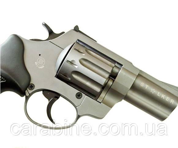 Револьвер ФлобераStalker Titanium 2,5 черная пластиковая рукоять