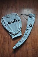 Мужской  серый костюм  Jaco