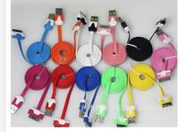Кабель ПЛОСКИЙ Micro USB white 1 метр