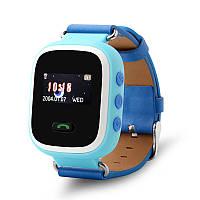 Оригинальные детские часы Smart watch Q60 Унисекс, Новое, Голубой