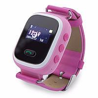 Оригинальные детские часы Smart watch Q60 Унисекс, Новое, Розовый