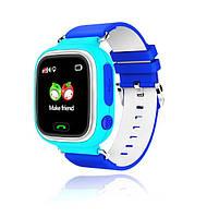 Оригинальные детские  часы Smart watch Q80 Голубой
