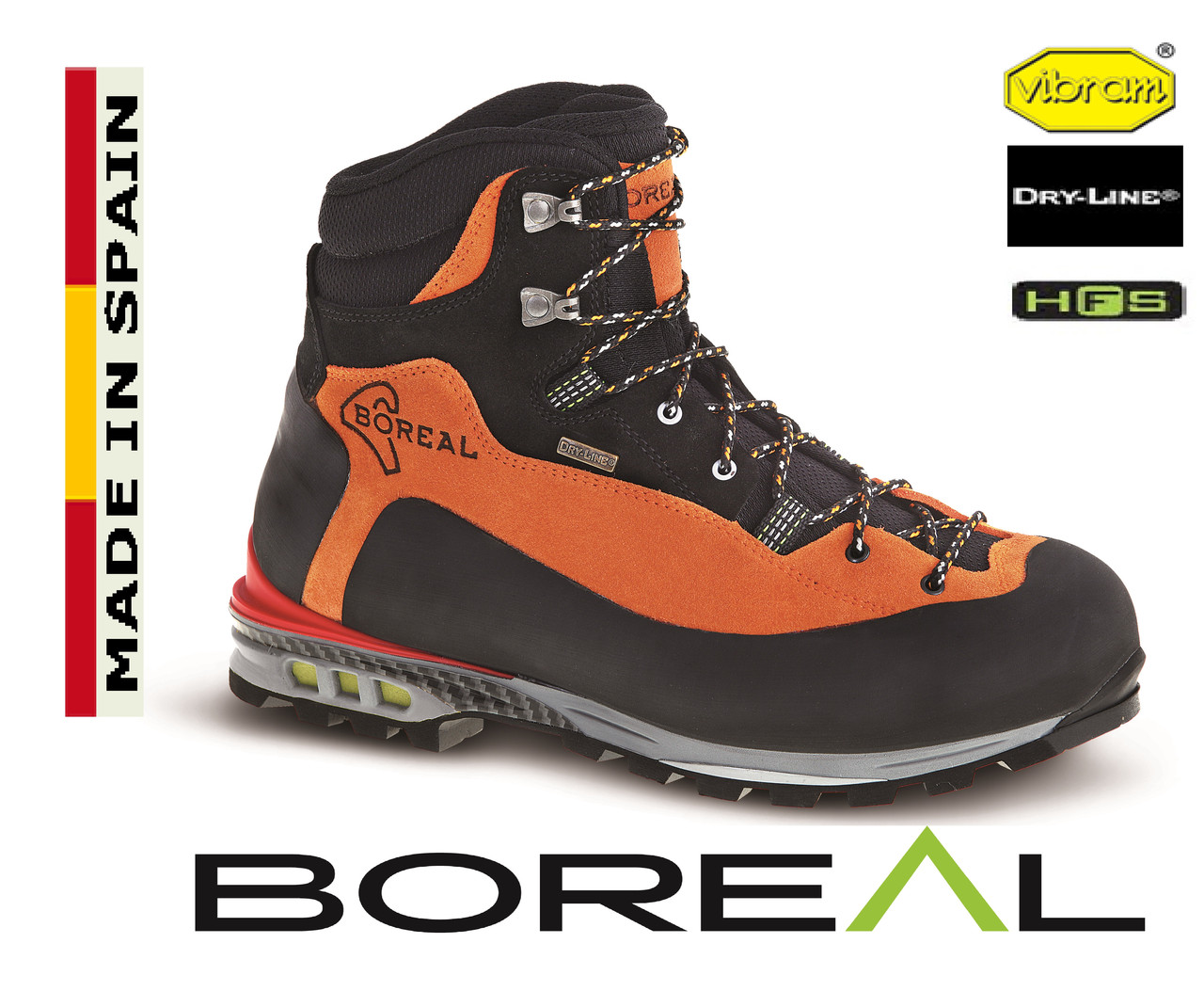 Ботинки для альпинизма Boreal Brenta.
