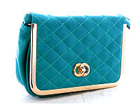 Женский клатч Chanel Бирюза  004