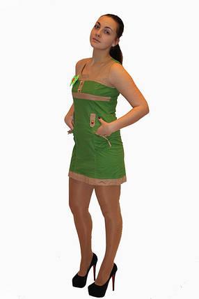 Платье DELANO №13093 зеленое  Артикул: 136001 Цена опт. : 267.00 грн.  Цена розн.: 414.00 грн., фото 2