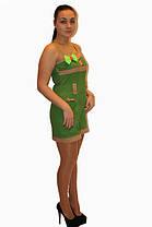 Платье DELANO №13093 зеленое  Артикул: 136001 Цена опт. : 267.00 грн.  Цена розн.: 414.00 грн., фото 3
