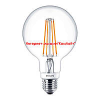 Светодиодная лампа PHILIPS LEDClassic 7-70W G93 E27 (Китай)