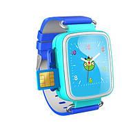 Оригинальные детские часы Smart watch Q100. от10 штук 880 грн Голубой
