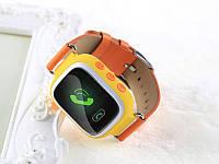 Оригинальные детские часы Smart watch Q100 Оранжевый