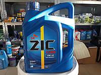 Полусинтетическое моторное масло ZIC X5000 Diesel 10w40 (4 литра) Сертификат