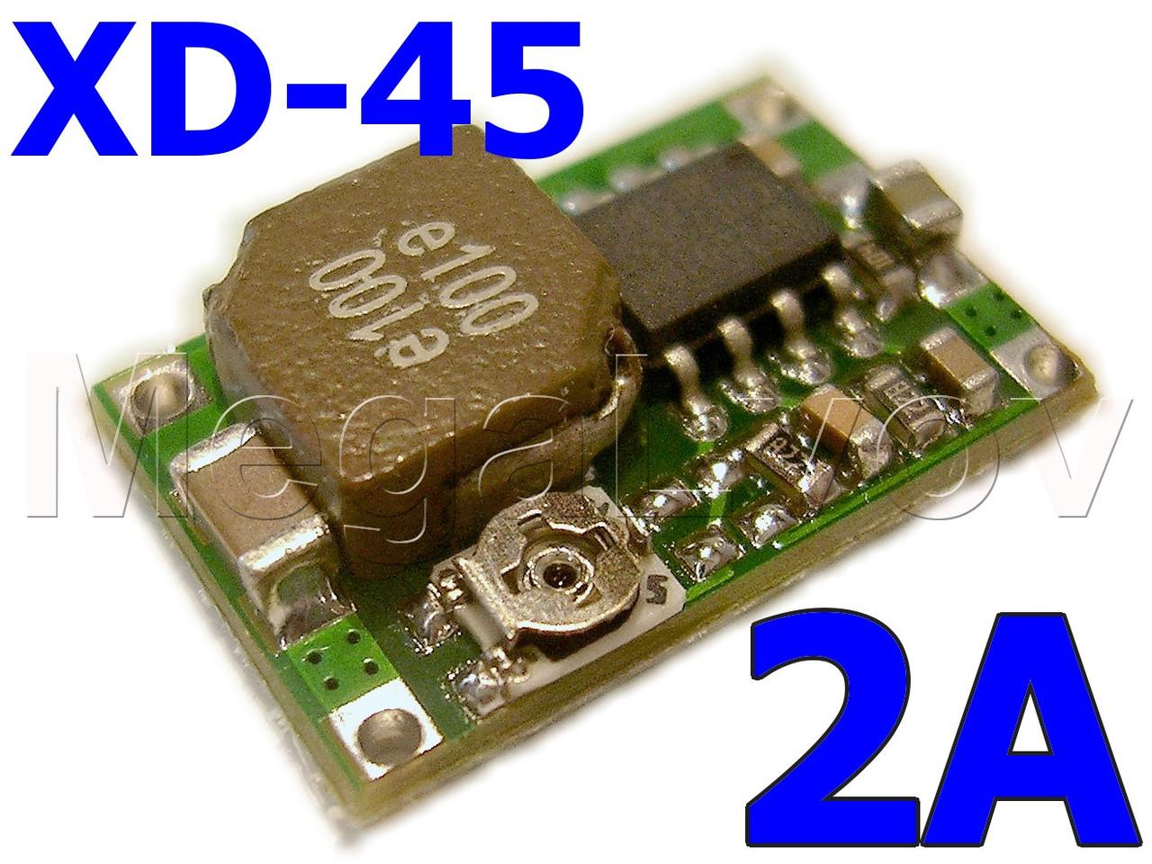 Преобразователь понижающий MP2307DN Mini360 (XD-45 mini-360 мини 360 ) 2A ( модуль питания  DC-DC Step Down )