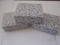 Коробка для капкейков на 6яч. с Чёрным узором