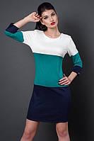 """Модное молодежное платье  - """"Трио"""" код 252, фото 1"""