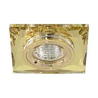 Светильник точечный Feron 8150-2 MR16 желтый золото