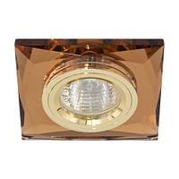 Светильник точечный Feron 8150-2 MR16 коричневый золото