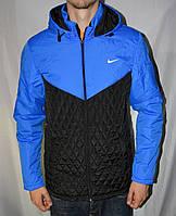 Мужская куртка Nike осенняя из плащевки, куртка Найк