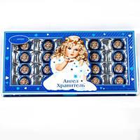 Шоколадные конфеты в коробке Ангел Хранитель с окошком  240 грамм