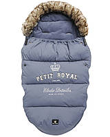 Зимний конверт в коляску Elodie Details цвет Petit Royal Blue