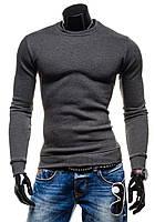 Утепленная мужская толстовка без капюшона