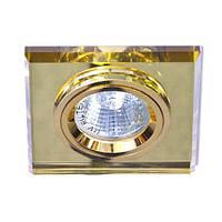 Светильник точечный Feron 8170-2 MR16 желтый золото