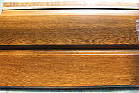 Металлический соффит-панель Золотой дуб