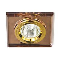 Светильник точечный Feron 8170-2 MR16 коричневый золото